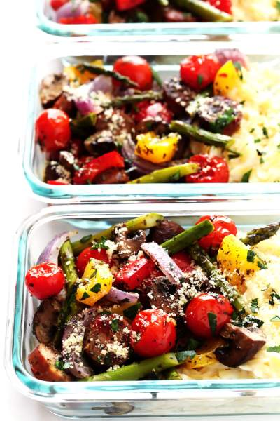 Italian Sausage and Veggie Bowls (Meal Prep)   Gimme Some Oven