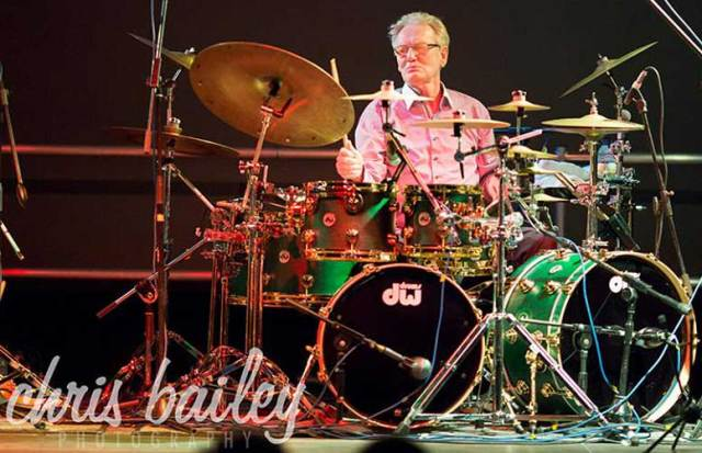 Ginger Baker on tour with Jazz Confusion