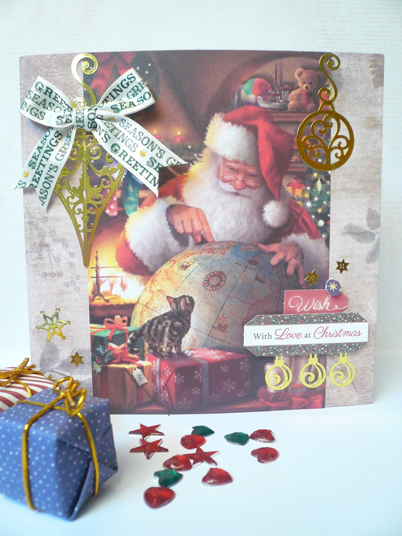 Giorgia Rossini for Docrafts - CHRISTMAS CARD TRIO 3