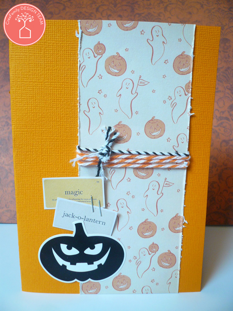 Giorgia Rossini for CreaFamily - Halloween cards