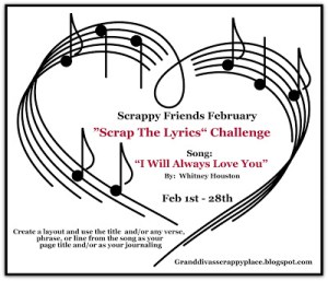 scrap the lyrics Challenge
