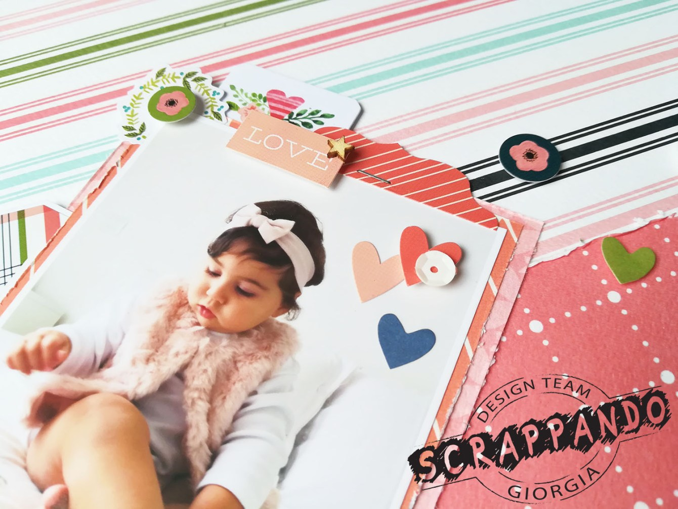 Giorgia Rossini for Scrappando