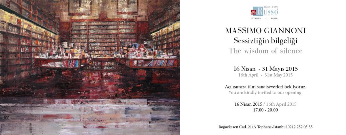 Massimo Giannoni The wisdom of silence