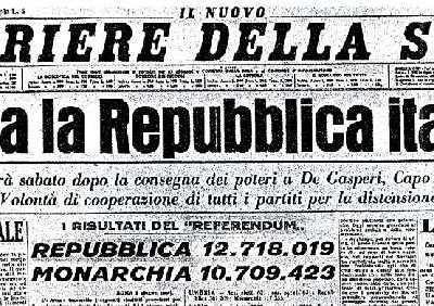Corriere della Sera - Prima pagina