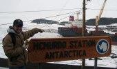 Geocaching weltweit, hier in der Antarktis (Foto: Kappa Pi Sigma)