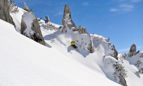 Nichts für Anfänger, schaut aber gut aus: Freeriden am Arlberg (Foto: NN/ Warth-Schröcken Tourismus)