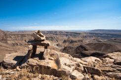 Der Fish River Canyon, Namibia