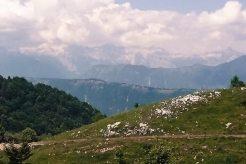 Die Tour führt über Weiden mit tollen Ausblick