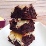 Cheesecake Swirl Brownies