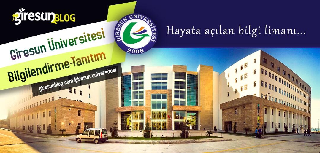 Giresun Üniversitesi Bilgilendirme ve Tanıtım