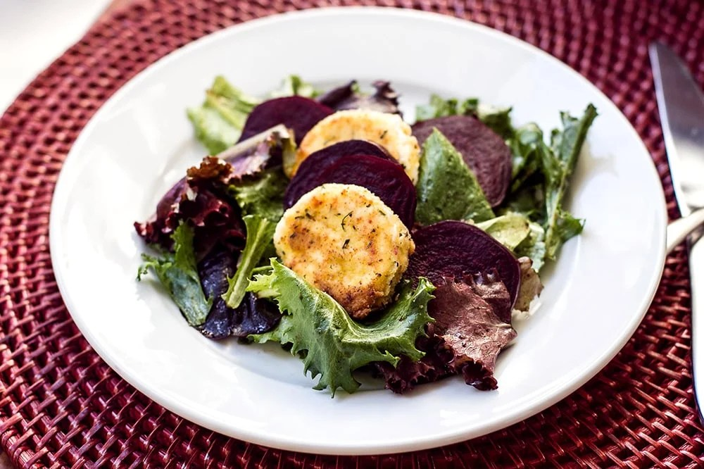 Maple Roasted Beet And Goat Cheese Salad Recipes — Dishmaps