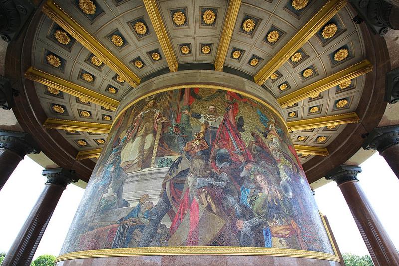 siegessäule mosaic