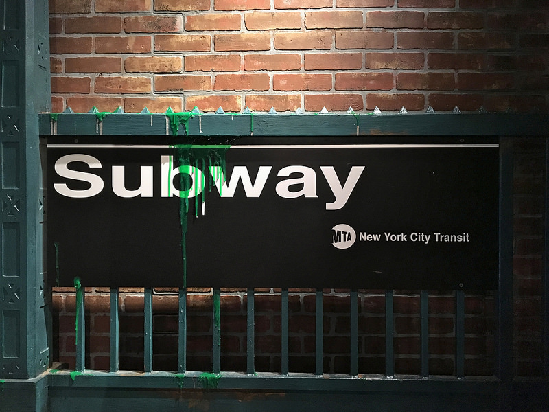 ghostbusters subway