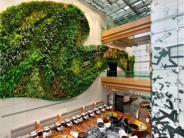 Hotel Icon Indoor Vertical Garden