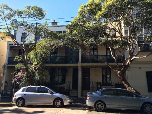 houses in darlinghurst