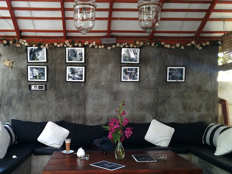 Cosy cafe attached to Sunil Garden Guesthouse