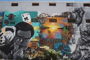 Street art in Noumea