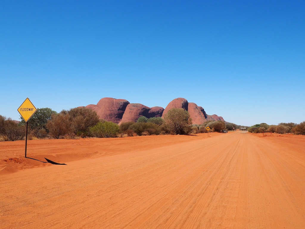 Kata Tjuta means 'many heads' in the local language