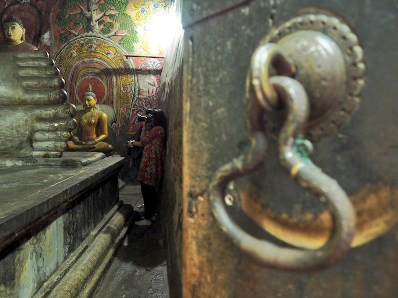 Cave Temple at Dambulla