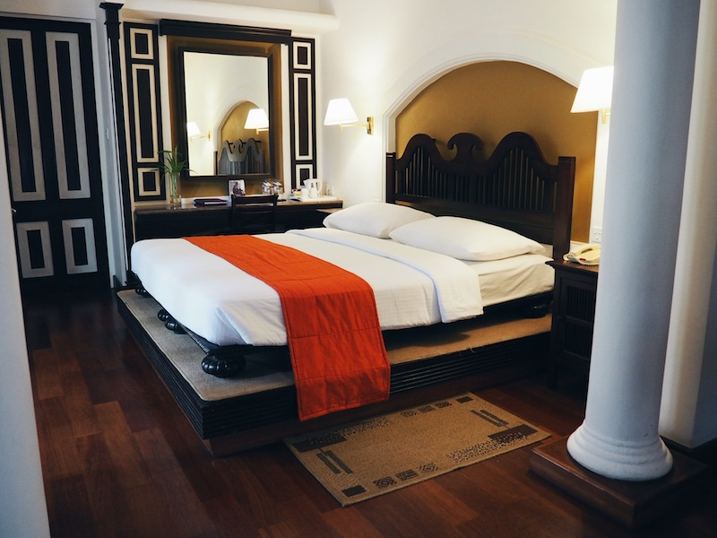 Our luxurious base the Cinnamon Lodge Habarana