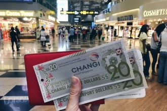 Get free money to spend at the airport as part of the Singapore Changi Transit Programme