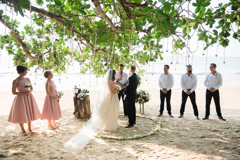 Pics From Our Thai Beach Wedding At The Sarojin