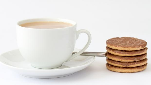 You can't beat a good British cup of tea and biscuit