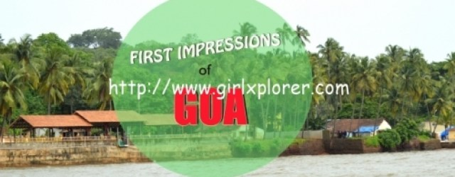 First Impressions of Goa