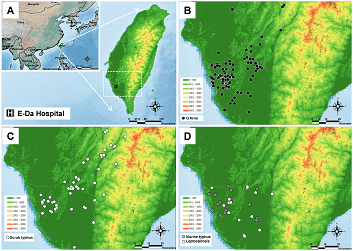 Better Infectious Rickettsioses Prevention in Taiwan with SuperGIS ...
