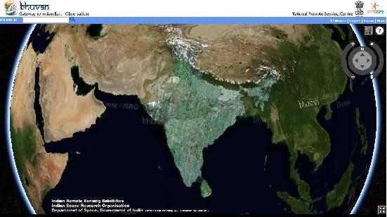 Bhuvan 3D Explorer