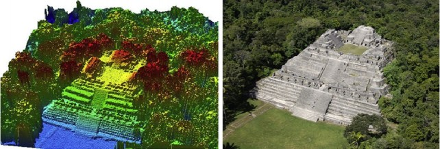 LiDAR survey Maya Civilization