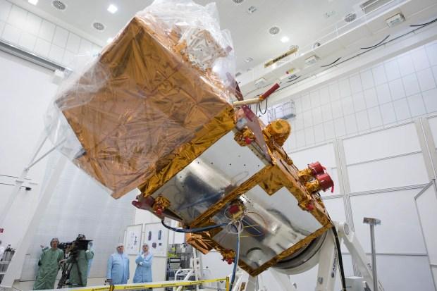 Sentinel 2A during test in IABG