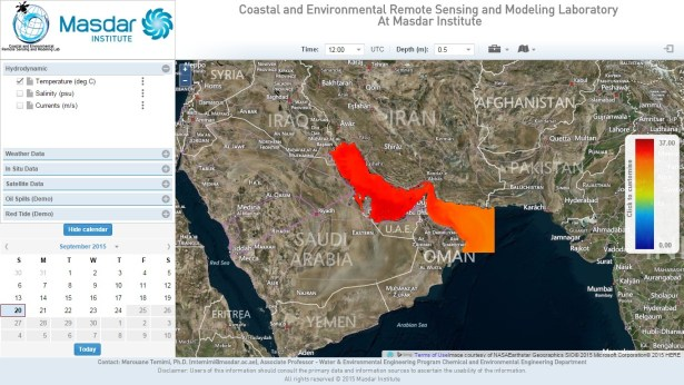 Coastal and Environmental Remote Sensing and Modeling Laboratory At Masdar Institute