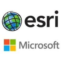 Esri and Microsoft collaboration
