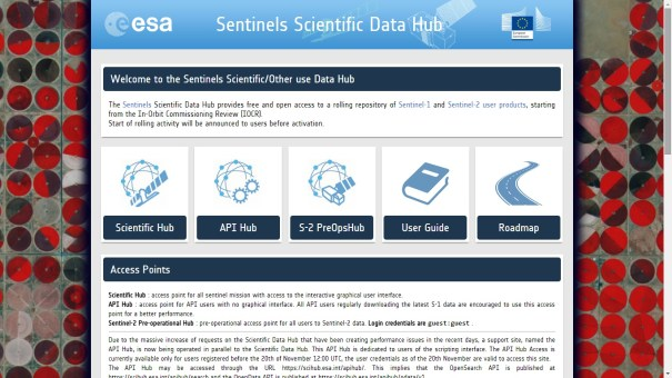 sentinels data hub