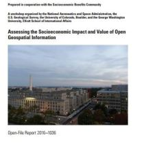 Socioeconomic Impact and Value of Open Geospatial Information