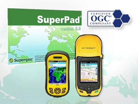 Mobile GIS—SuperPad 3.3