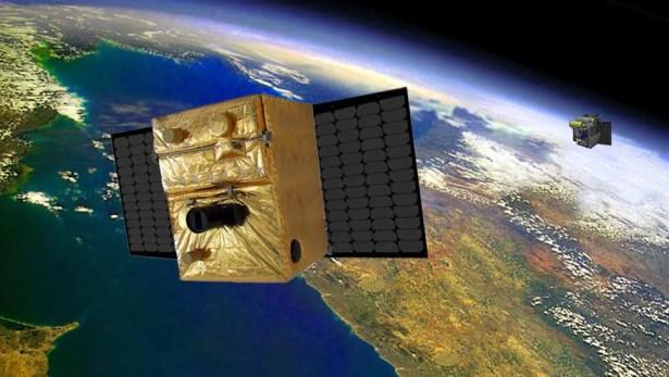 Microsatellites TET-1 and BIROS Credit: DLR