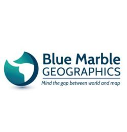 Blue Marble Geographics new logo