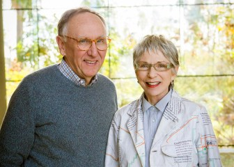 Jack and Laura Dangermond honored on Business Insider Top 100.,br/> credit: Esri