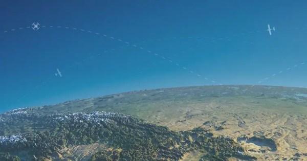 uavionix-and-precisionhawk-LATAS Enabled Drones