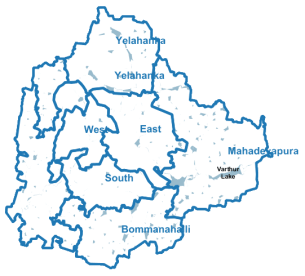 Administrative Area of BBMP Revenue Department