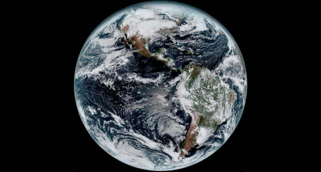 First GOES-16 Image Credit : Harris Corporation