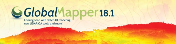 Global Mapper 18.1