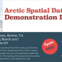 OGC Arctic Spatial Data Pilot demonstration