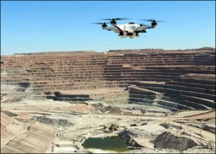 drone for mining