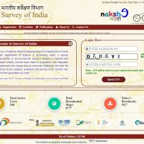 Survey of india portal to download maps