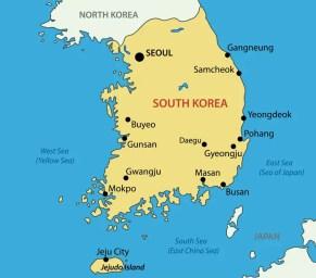 South Korea GPS
