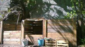 le compost du gite en ubaye