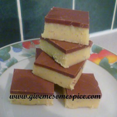 Chocolate Barfi - An Indian Sweet